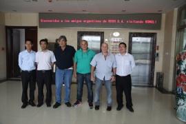阿根廷客户验收40钻机