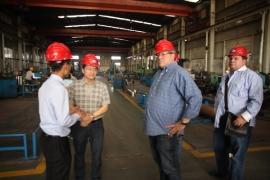 委内瑞拉客户来公司洽谈合作