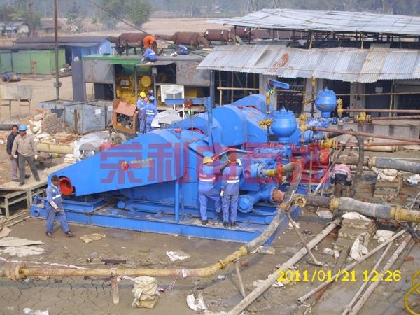 F-1600电机泵组现场