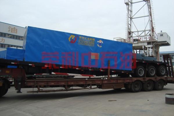 俄罗斯客户F-800车载泵组准备发货