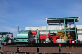 发往印尼的4套3NB-500配卡特柴油机及艾利逊变矩器泵组 (1)