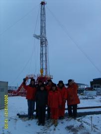 2007年ZJ30车载钻机在伽斯洛斯姆那依公司井场