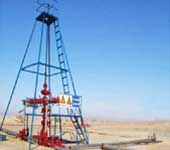 钻机、钻井泵及配件已经为全国十几家油田和地矿部门